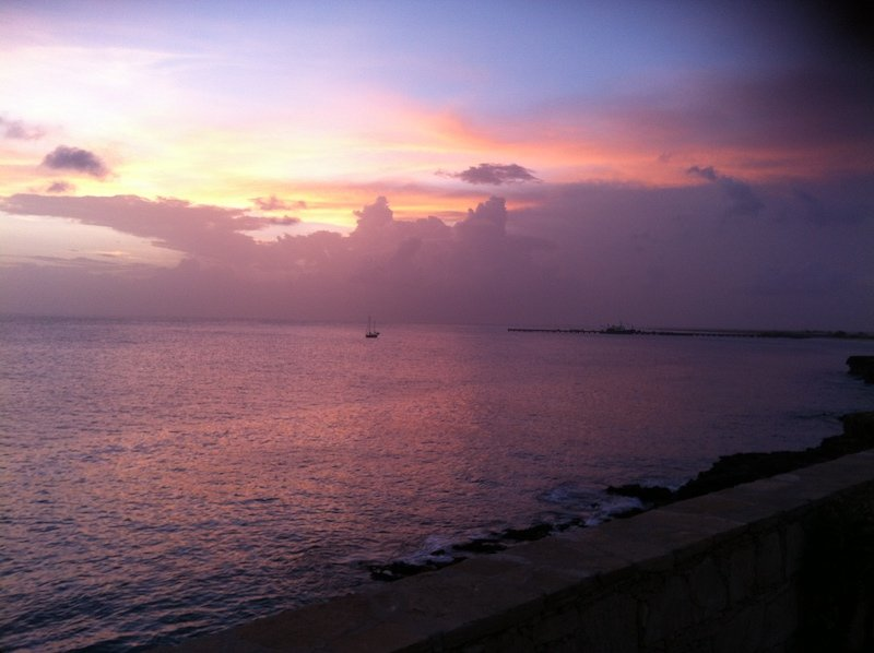stella maris maio cape verde sunset