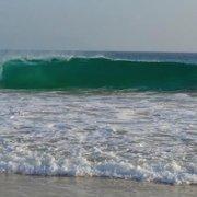 Wave on Maio beach