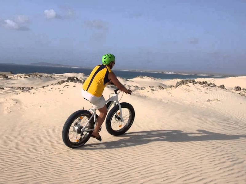 bicycle hire maio cape verde