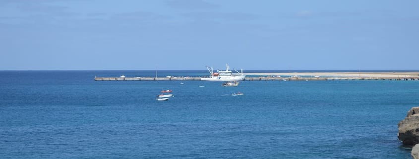 Maio port and ferry, Cape Verde