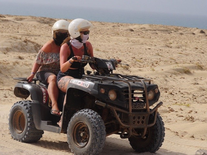 quad biking in Maio Cape Verde