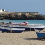 Bitxe rotxa beach, Maio, Cape Verde
