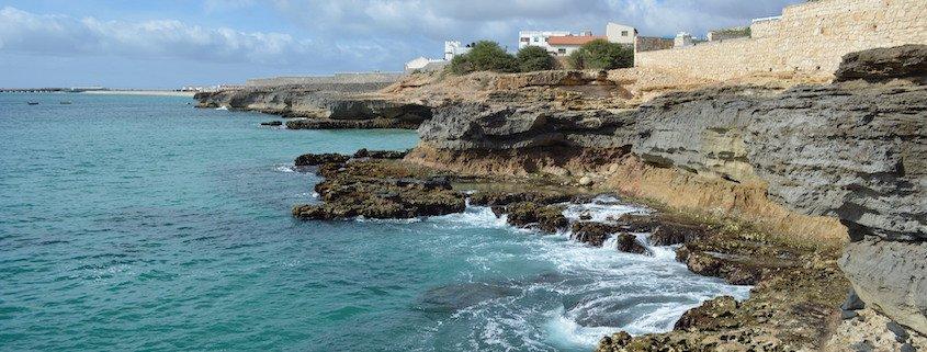 Coast at Vila do Maio, Maio Island