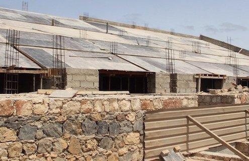 Municipal stadium, Maio island, Cape Verde