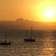 Sunset from Maio, Cape Verde