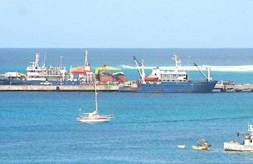 Maio island port