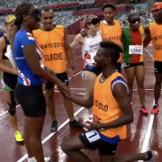 Marriage proposal act Paralympics