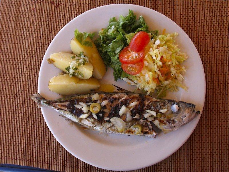food on Maio, Cape Verde